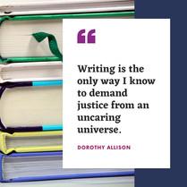 Dorothy Allison quote