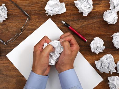 Top 10 Ways to Beat Writer's Block