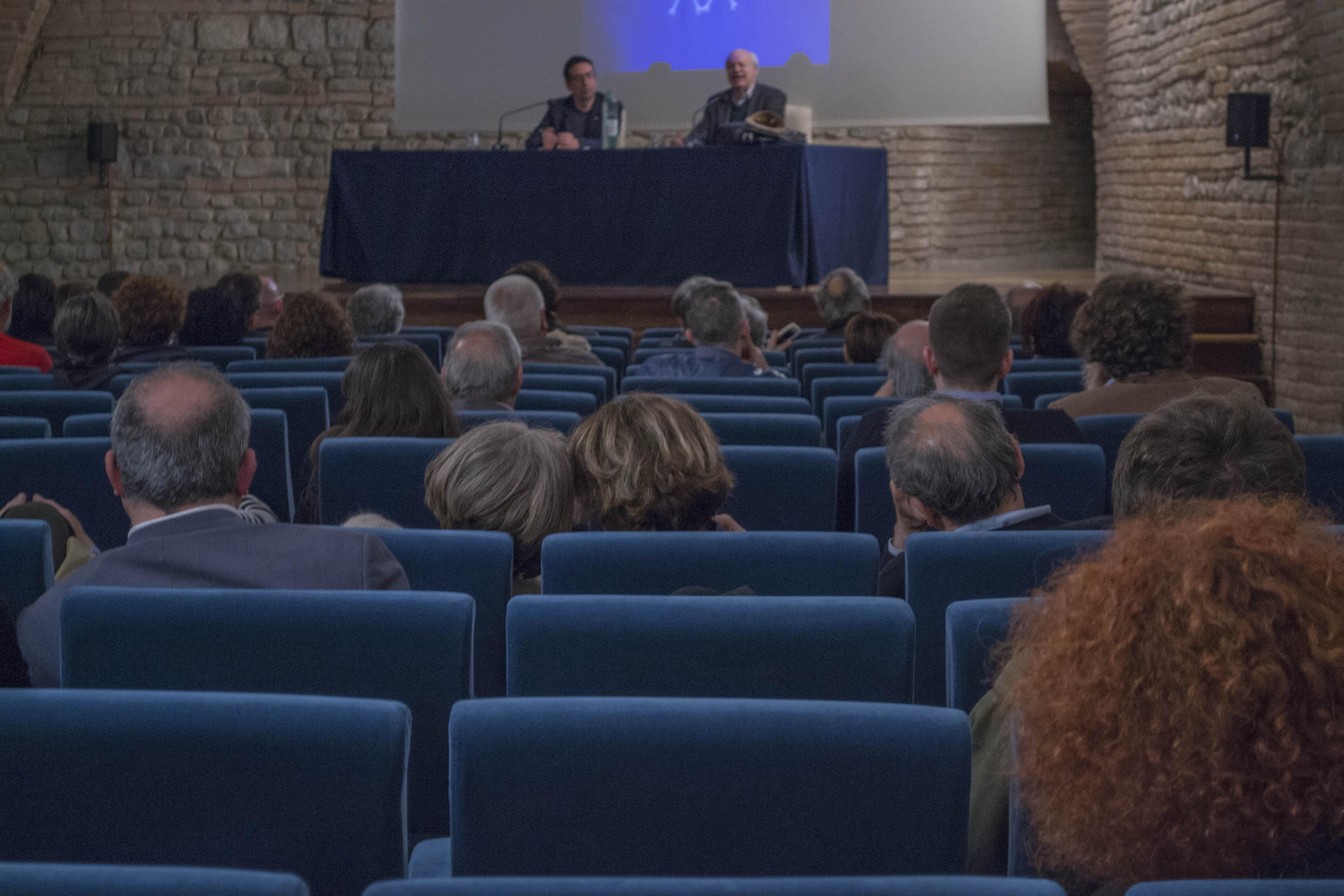 Renato Barilli e Raffaele Quattrone