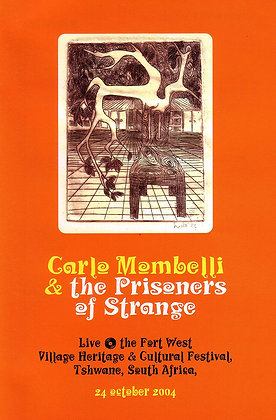 Carlo Mombelli- Live at Fort West