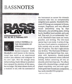 Bassplayer 2011