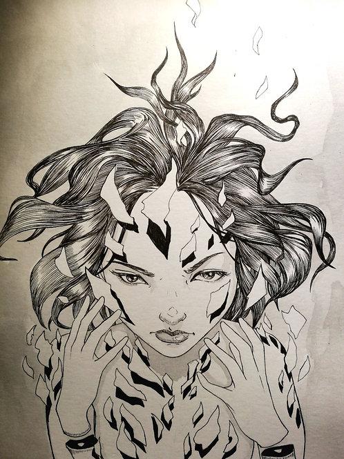 Broken - Original Artwork