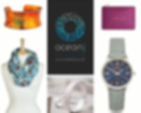 Watches, Jewellery, scarves and bags all to complement your image. Our clinic dispay is redesigned monthly.