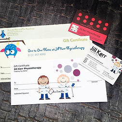 New Physio Gift Vouchers #giftideas #phy
