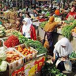 pasar tradisional Perumahan Greenland Bogor