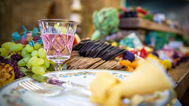 Boho Grazing Table captured by Steve Barber