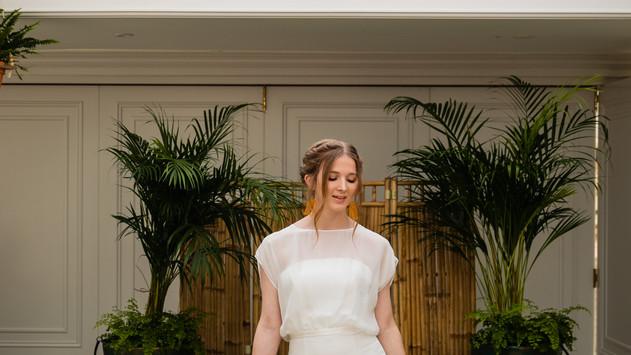 Blushing Bride at Hayne House