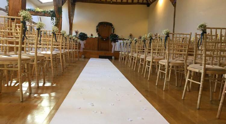 Wedding Reception at Winters Barns - Sunday 23rd July 2017