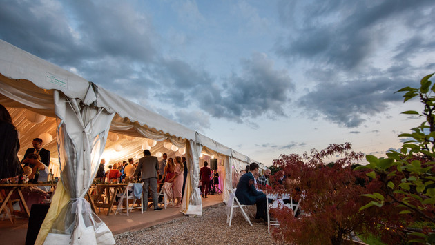 Evening Marquee Reception
