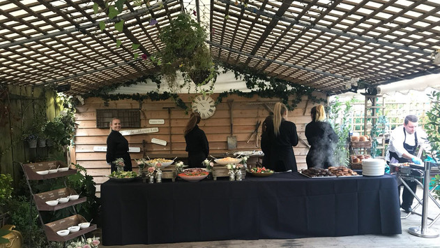 Barbeque at Marleybrook House