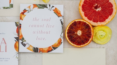 Wedding Stationary by Heather Corthine Design