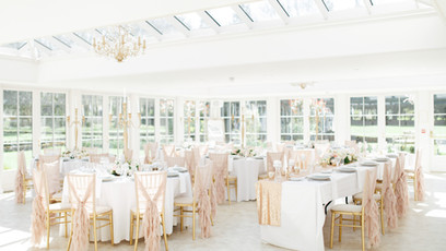 Hayne House Wedding Breakfast Room