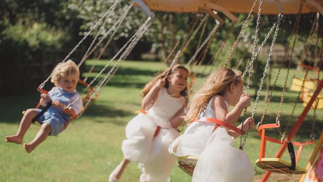 The Swings at Marleybrook House