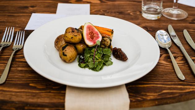 Vegan Dish at Hayne House