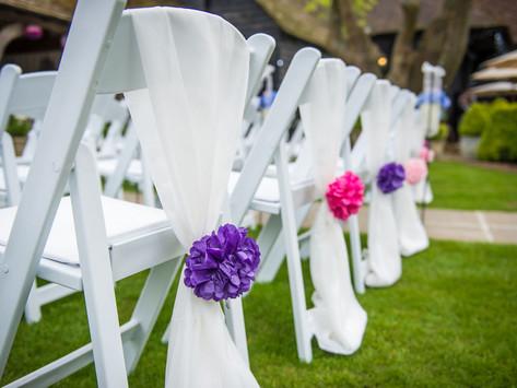 Wedding Reception at Winters Barns - Friday 17th May 2019
