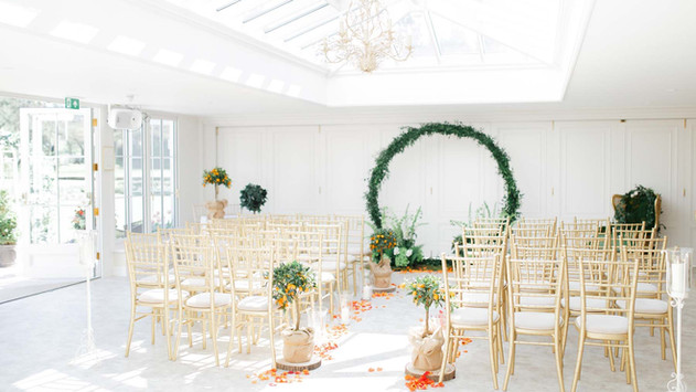 The Ceremony Room at Haye House