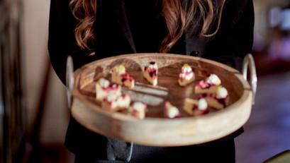Cheesecake Canapés