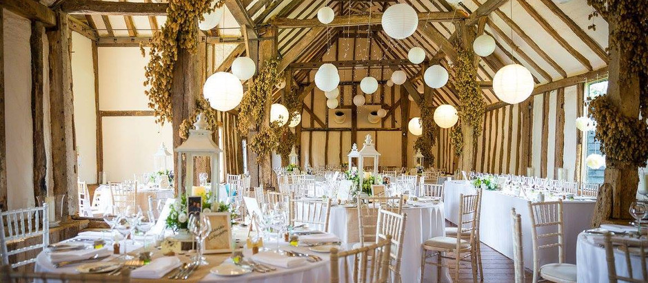 Wedding Reception at Winters Barns - Friday 7th April 2017