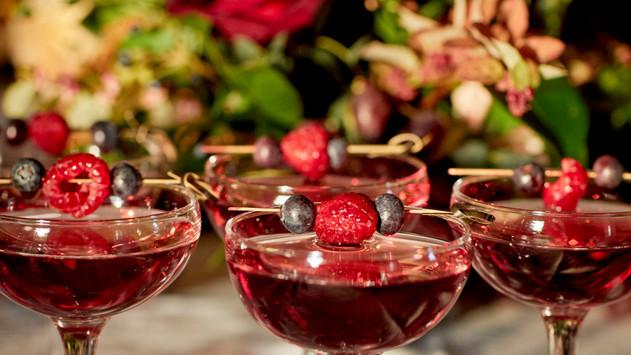 Cocktails captured by Lizz Gregg