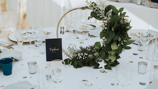 Gorgeous Centre Pieces created at Hayne House