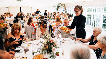 Wedding Breakfast Service