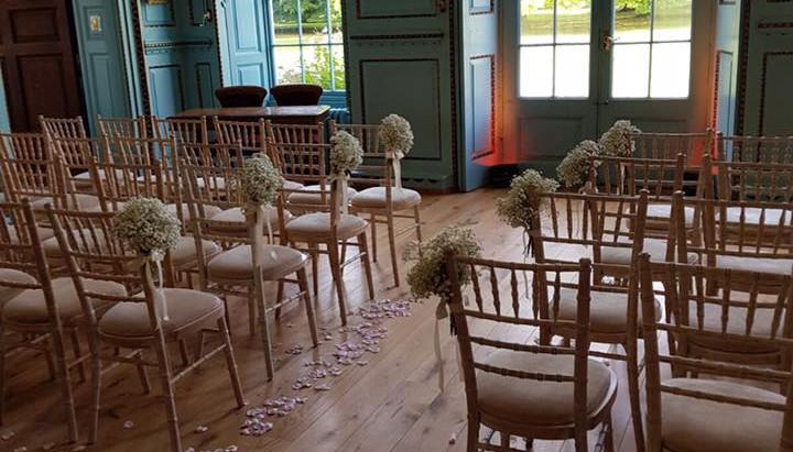 Wedding Reception at Bradbourne House - Friday 2nd September 2011