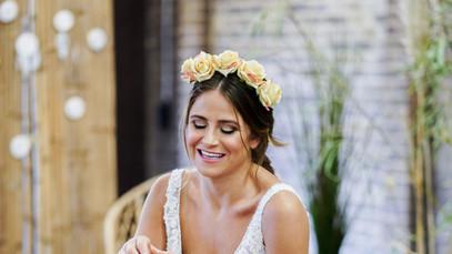 Boho Bride captured by Steve Barber