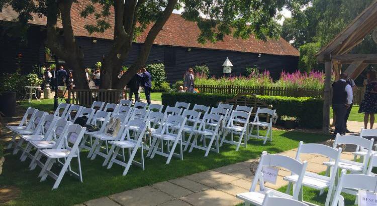 Wedding Reception at Winters Barns - Friday 15th September 2017