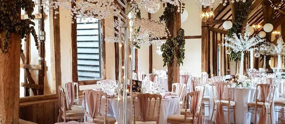 Wedding Reception at Winters Barns - Saturday 1st May 2010