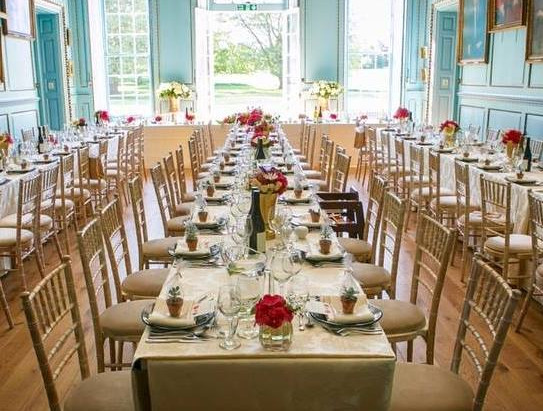 Wedding Reception at Bradbourne House - Saturday 19 December 2009