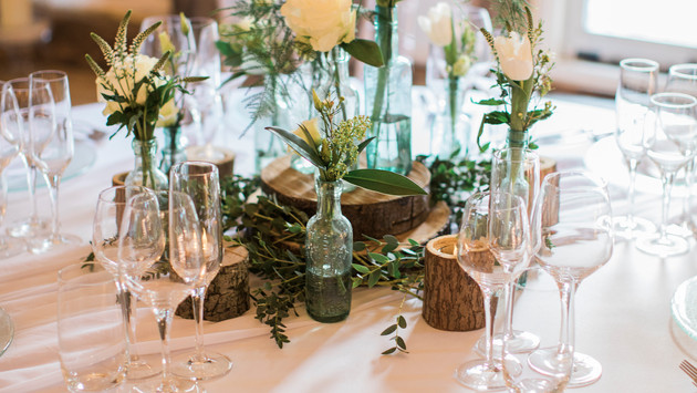 Place Setting at Winters Barns