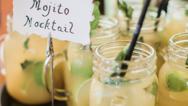 Mocktail at Winters Barns