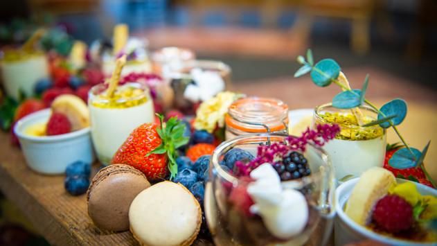 Detailed Mini Desserts