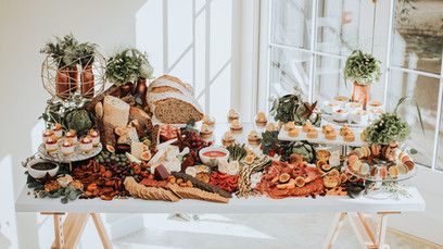 Layered Grazing Table captured by Olegs Samsonovs