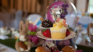 Mad Hatter Style Afternoon Tea