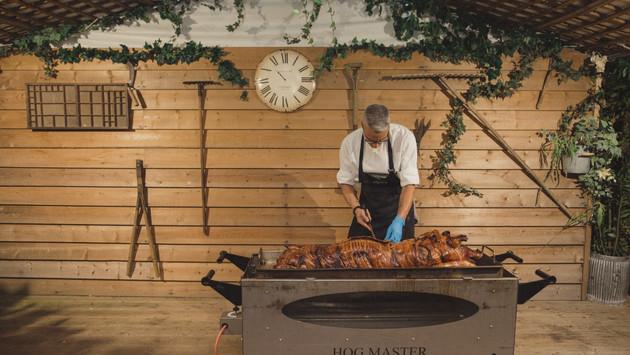 Hog Roast at Marleybrook House