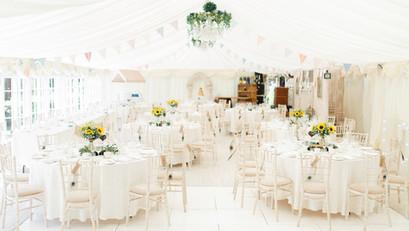 Wedding Breakfast Room at Marleybrook House