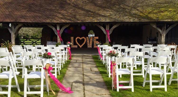 Wedding Reception at Winters Barns - Sunday 2nd July 2017