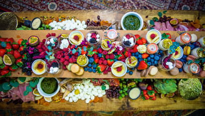 Grazing Table captured by Steve Barber