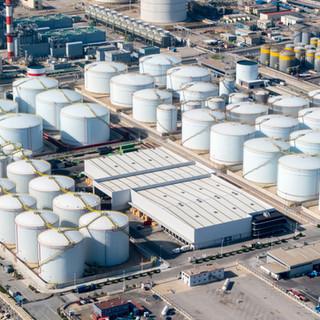 Oil tank farm repair & equipment replacement works.