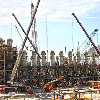 Al Taweelah Alumina Refinery.