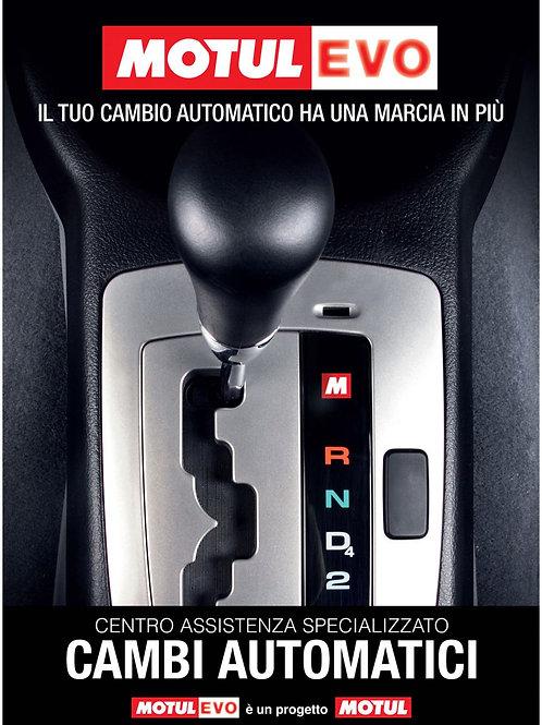 LAVAGGIO E SOSTITUZIONE OLIO CAMBIO AUTOMATICO
