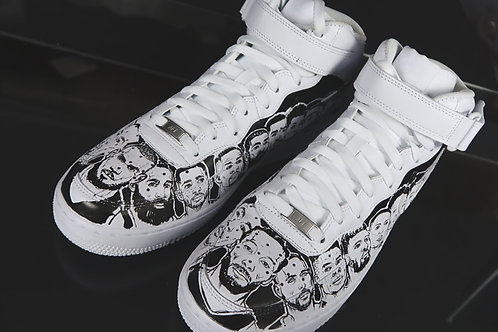 TOP NBA PLAYERS 2019: NIKE Air Force Ones