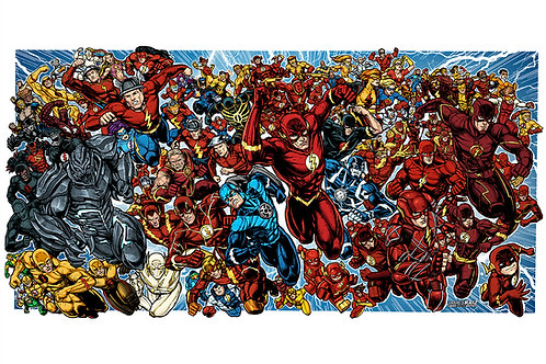 Over 100 Flash Suits
