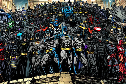 Over 100 Batman Suits