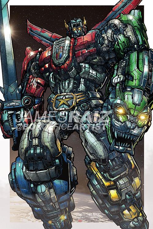 Transformers Voltron