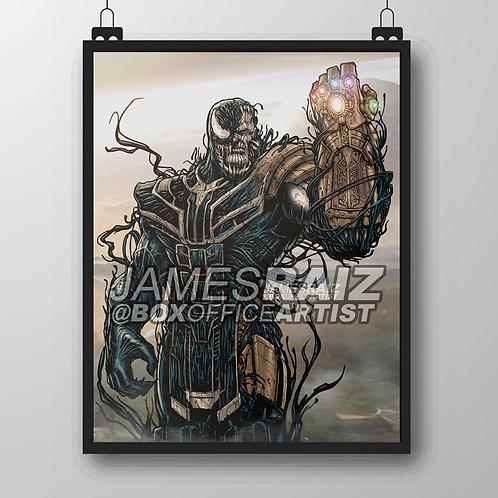 Ultimate Thanos & Venom Mashup
