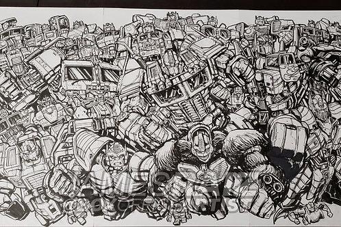 ORIGINAL ART: Prime