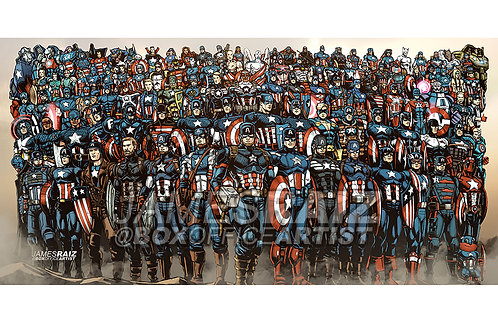 Over 100 Captain America Suits