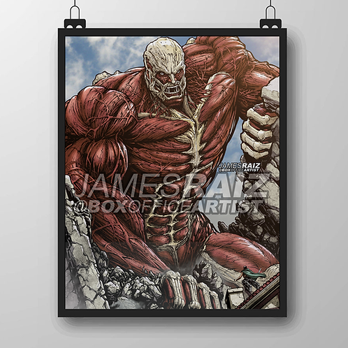 Colossal Titan from Attack on Titan